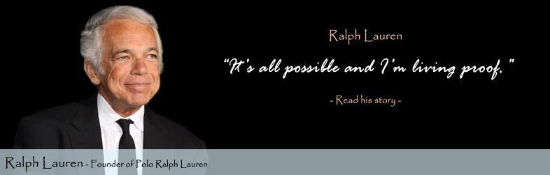 Ralph Lauren \u2013 A Lengendary Figure